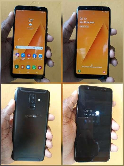 Samsung A6 Plus 32gb con Huella