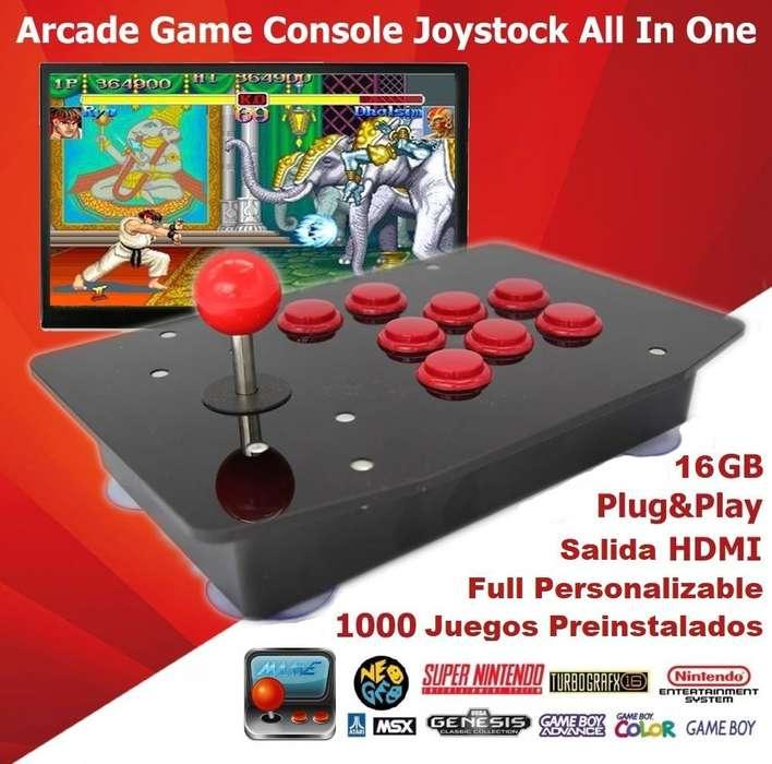Retro Consola Arcade Stick Todo en Uno