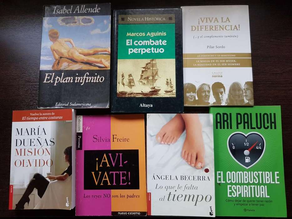 LIBROS!!!! IMPECABLES