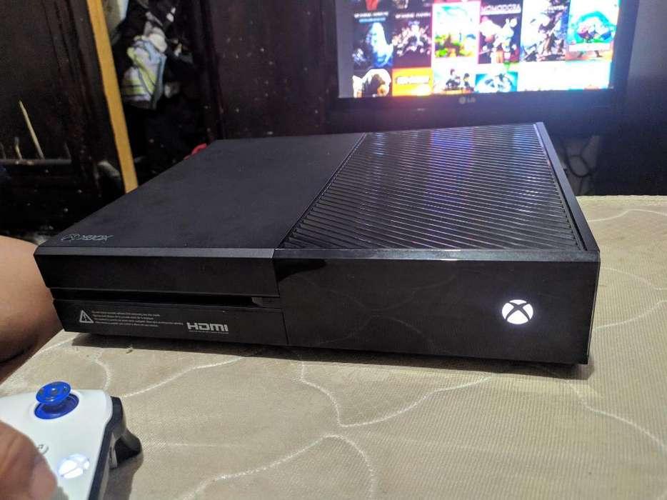 Vendo Xbox One Fat de 500gb con Mandos
