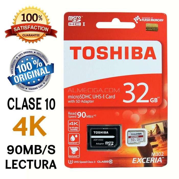 Memoria <strong>toshiba</strong> 32gb clase 10 original