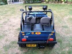 Vendo Mini Jeep Cj4 con Motor de Moto