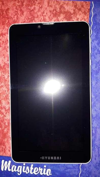Tablet Hyundai 7 pulgadas 3G dual sim wifi <strong>bluetooth</strong>