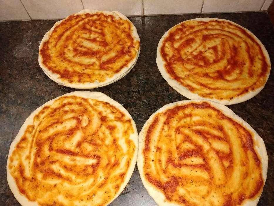 Prepizzas de Tomate Y de Cebolla