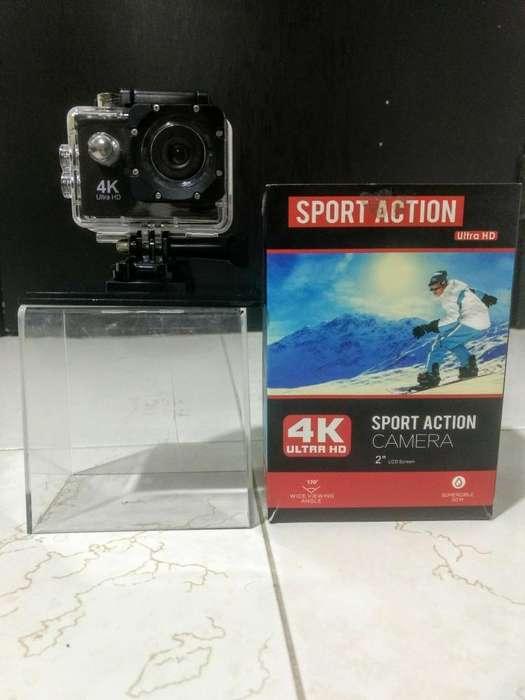 Camara Sport Action 4kultrahd,sumergible