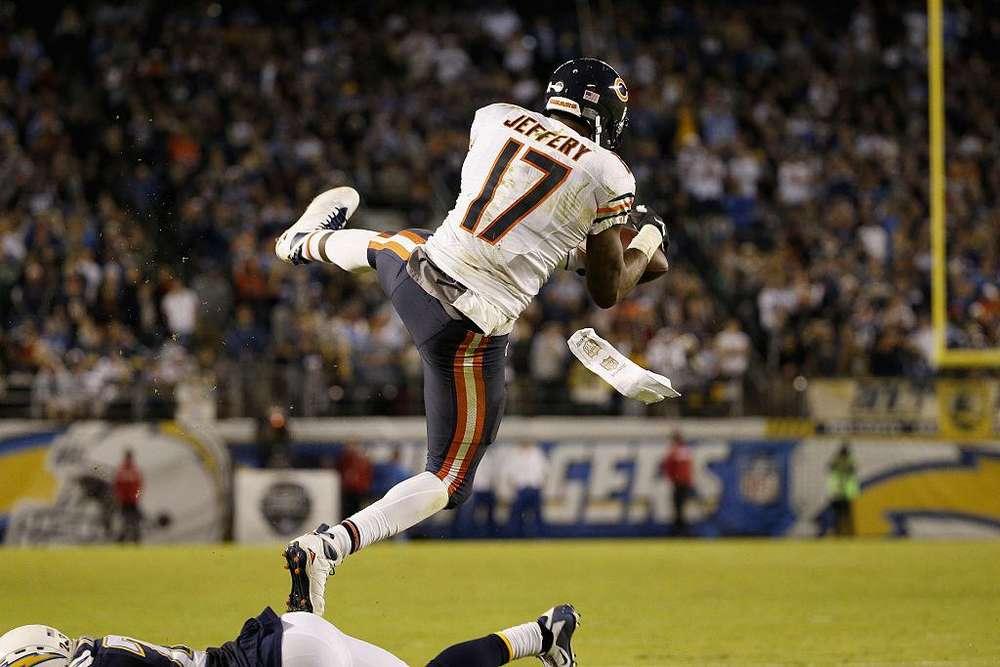 Camiseta NFL Alshon Jeffery Chicago Bears