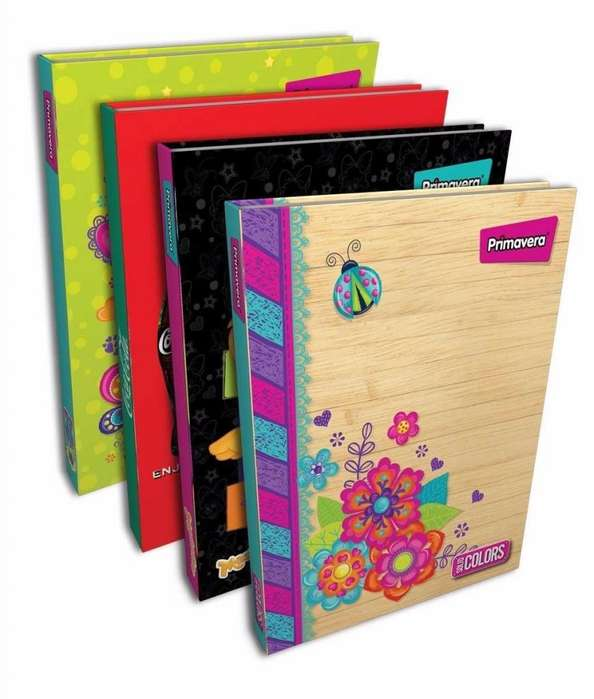 Agenda Universitaria 5 Materias 150 Hojas Cuaderno 23,5x18cm