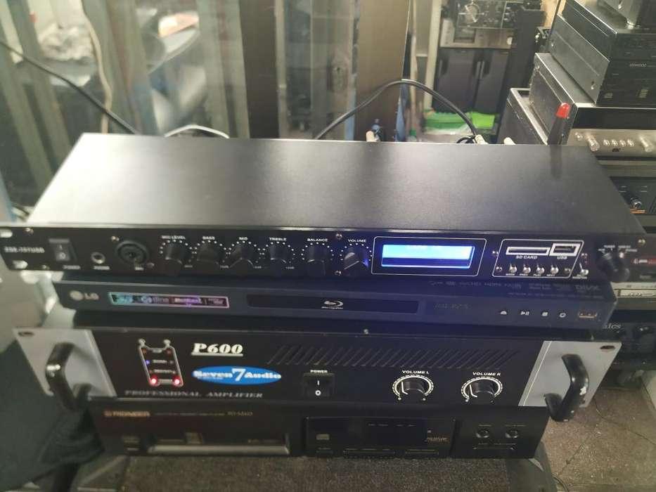 Pre Amplificador Usb Bluetooth