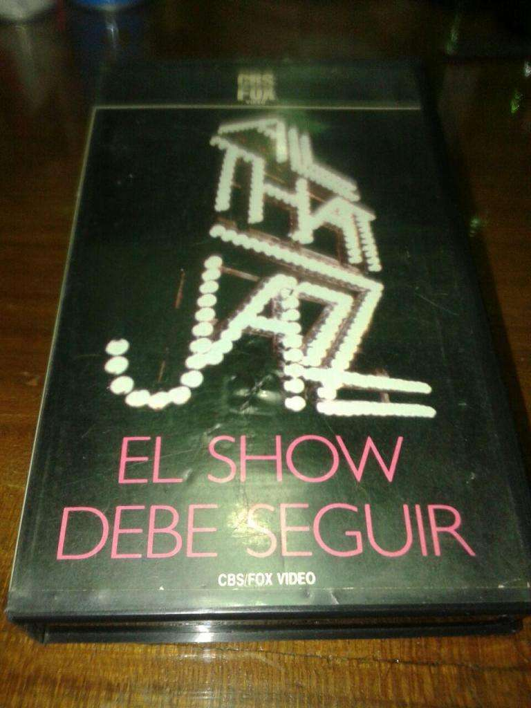 Various – All That Jazz - El Show Debe Seguir - VHS ARG