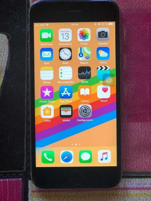 iPhone 6 S solo wifi