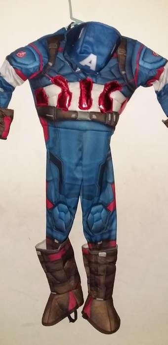 Disfraz Capitán American