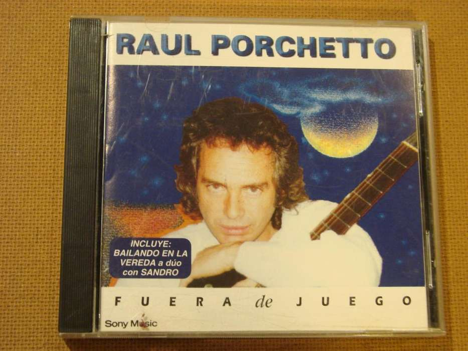 Raul Porchetto Fuera De Juego Cd Usado 1996 pero en buenas condiciones