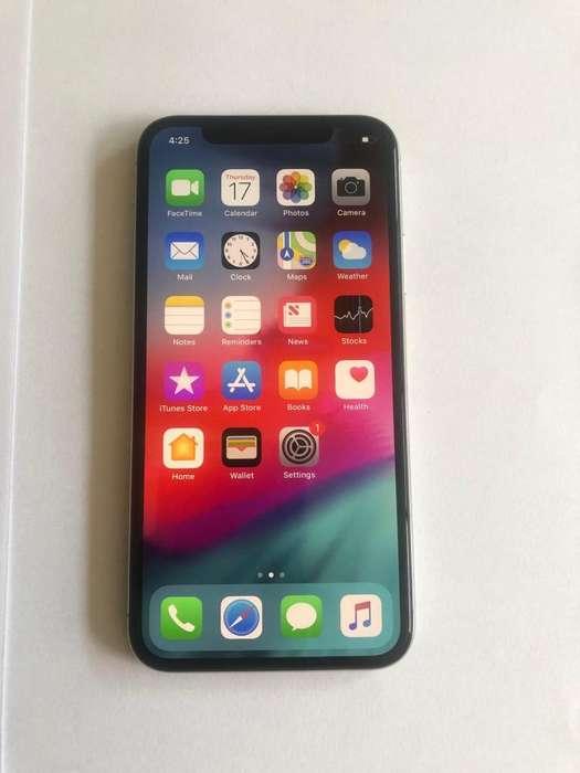 iPhone X 64Gb blanco muy buen estado desbloqueado (no hago cambios)