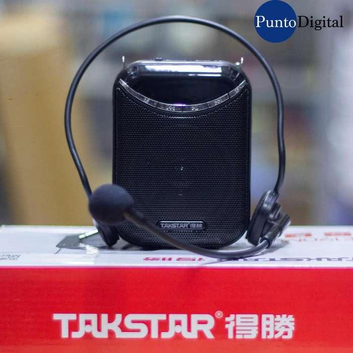 Amplificador portatil takstar/Reproductor de sonido
