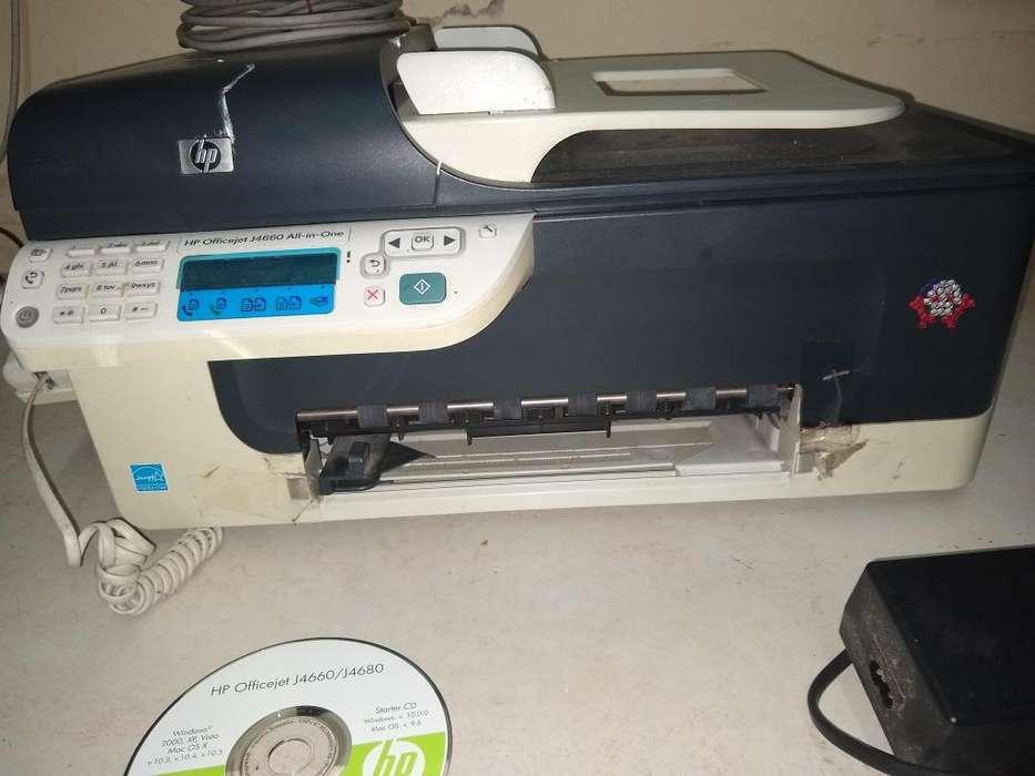 Impresora Hp J4660 All In One Telefono Scaneo Fax