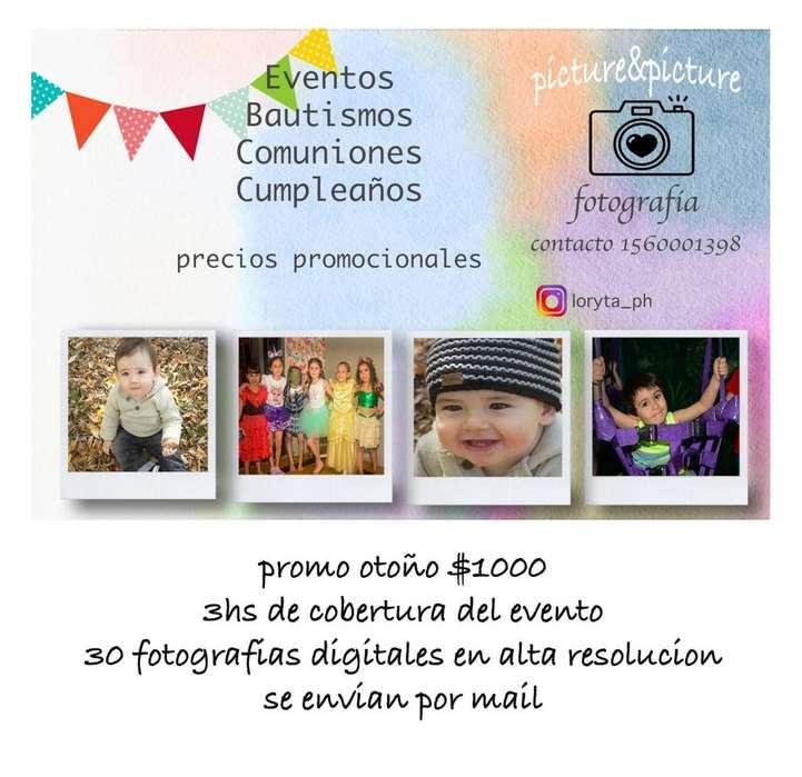 FOTOGRAFIA EVENTOS