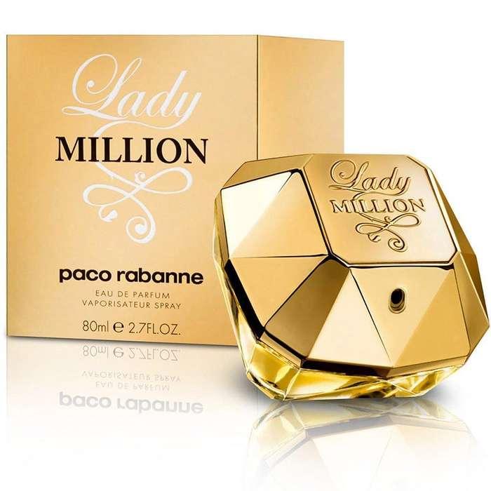 Perfume Paco Rabanne Lady Million 80 ml 2.8floz