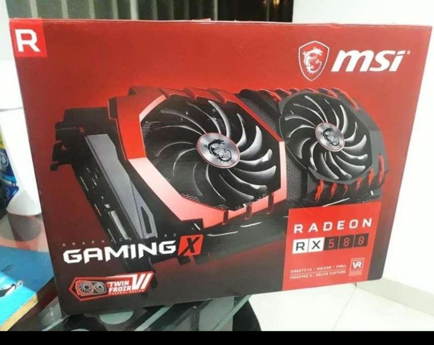 Msi Rx 580 Gaming X 8gb