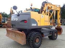 Venta de Excavadora Neumatica Volvo