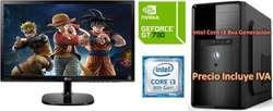 Computadora Intel Core I3 8va 2tb 4gb Led 20 GT730 4GB Cpu I5 I7 PRECIO INCLUYE IVA ENTREGA A DOMICILIO