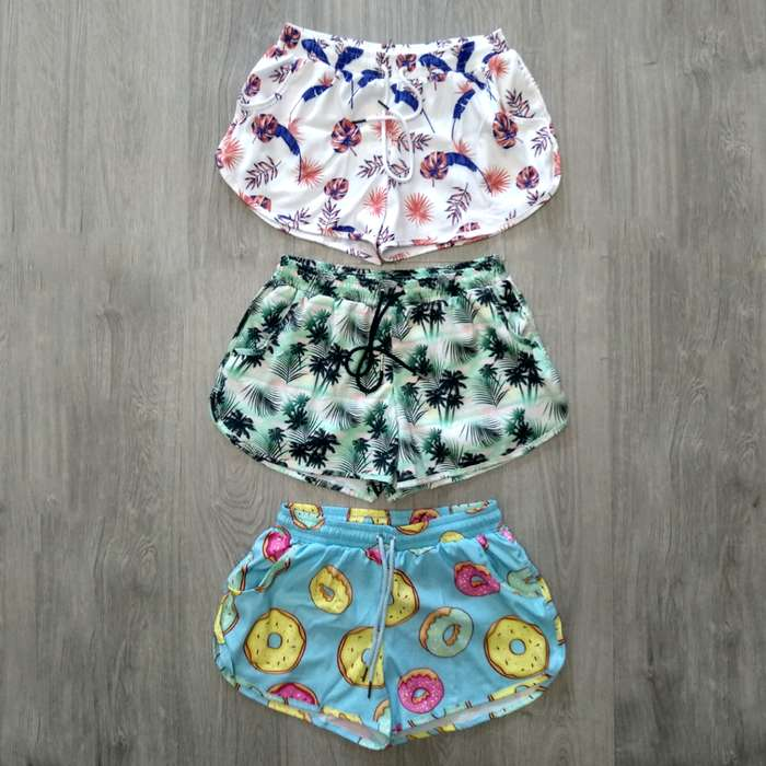 pantalonetas playeras de dama marca Bausi