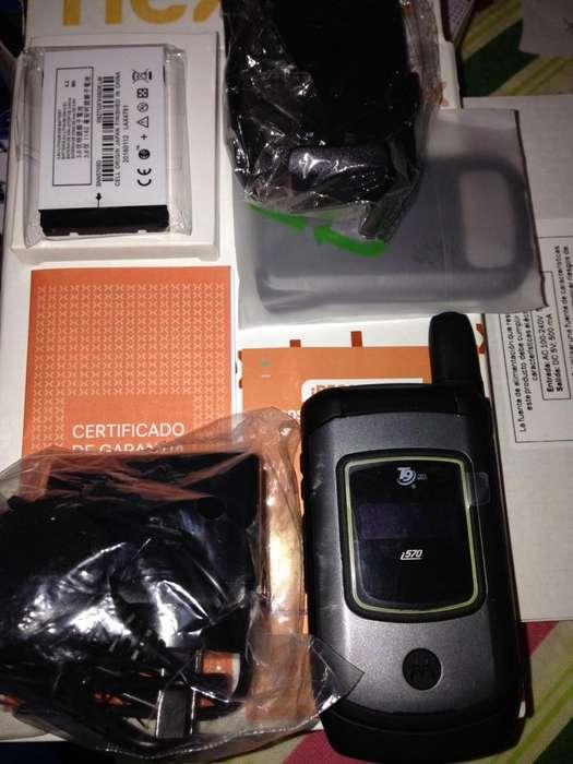 <strong>nextel</strong> i570 nuevo en caja con holder libre abono o prepago