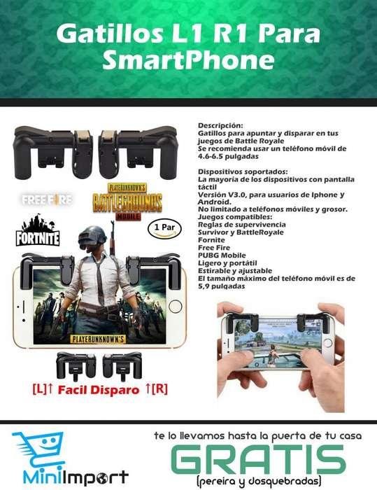 Gatillos L1 R1 Para SmartPhone