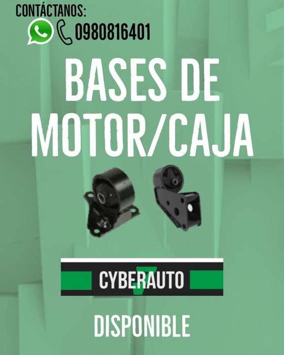 Bases de Motor Bases de Caja hyundai <strong>chevrolet</strong> mazda kia toyota