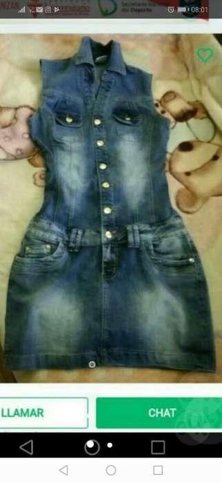Vestido Jeans Strech