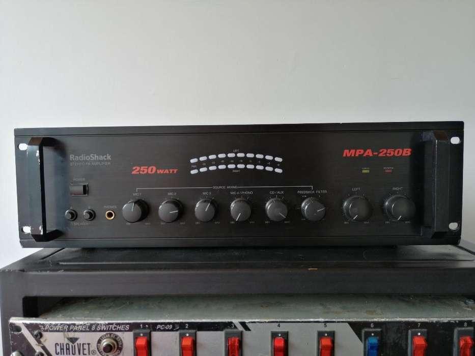 Amplificador de Sonido 500 W Rms