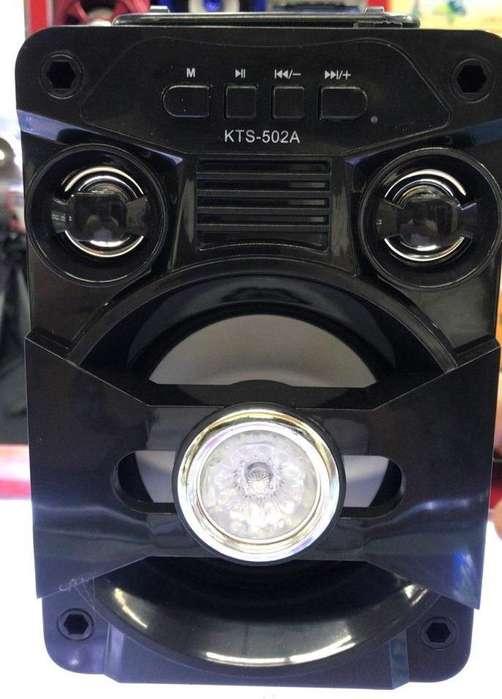 Parlante Portatil Bluetooth Kts502a