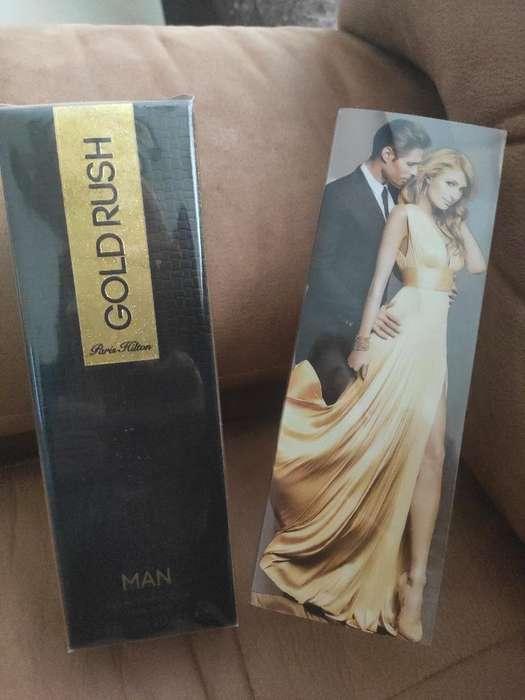 Perfume Gold Rush Hilton para Hombre