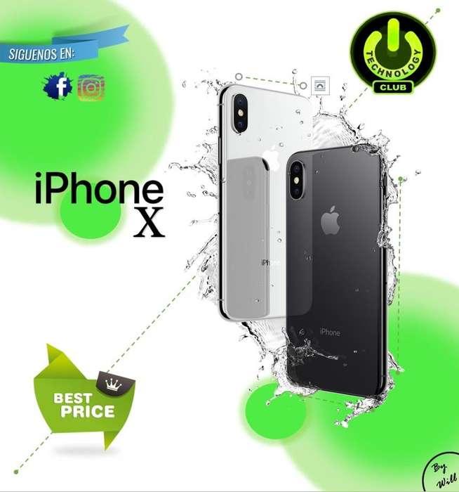 Iphone X HDR10 Dolby Vision Apple / Tienda física Centro de Trujillo / Celulares sellados Garantia 12 Meses