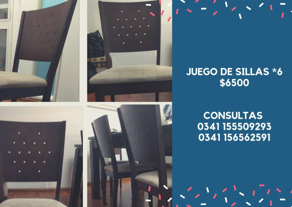 Oferta sillas <strong>comedor</strong>