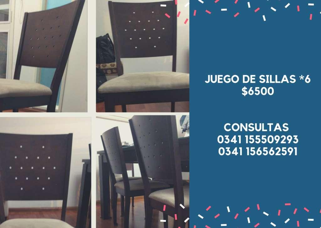 Oferta sillas comedor - Rosario