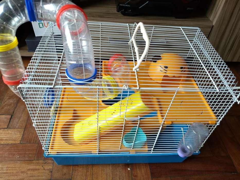 Jaula para <strong>hamster</strong> con Todo Sus Accesori