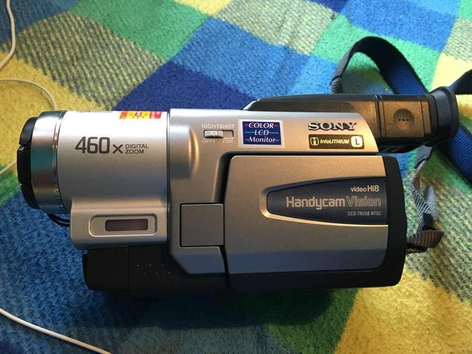Filmadora Sony 2001 sin bateria