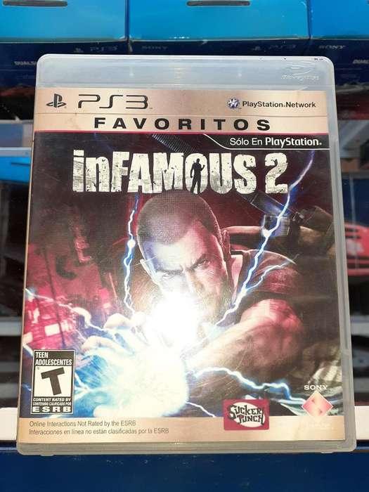 Infamous 2 para Consola Ps3 Full