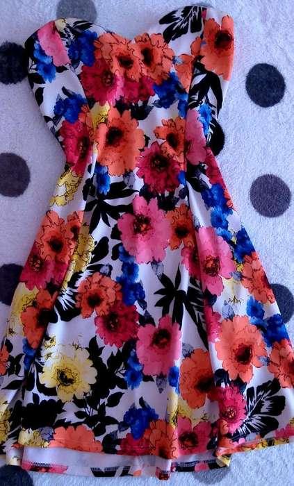 Vestidos Roses Print de Fina Costura