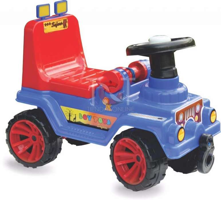 Carro Montable Jeep Niños Niñas Juguete Infantil Nuevo