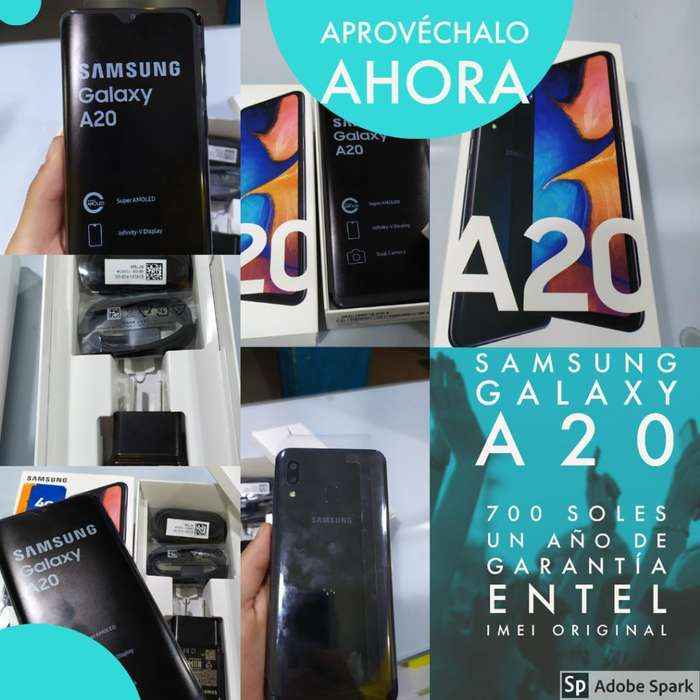 Samsung Galaxy A20 (nuevo)
