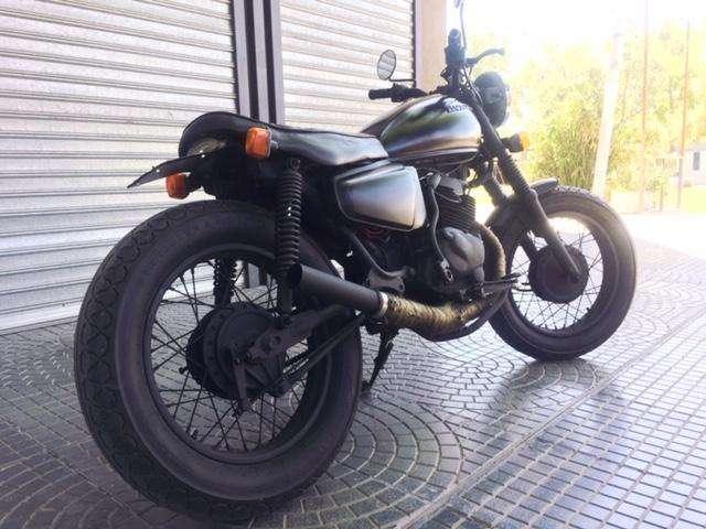 VENDO URGENTE!! <strong>honda</strong> 200 CC BICILINDRICA 81' CAFE RACER BRAT STYLE SCRAMBLER