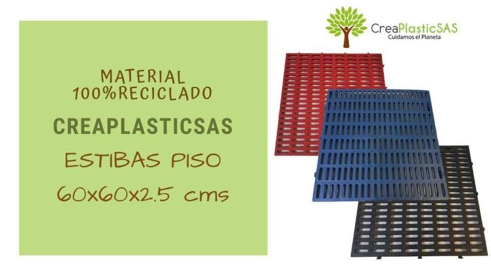 Estibas y Pisos Plásticos