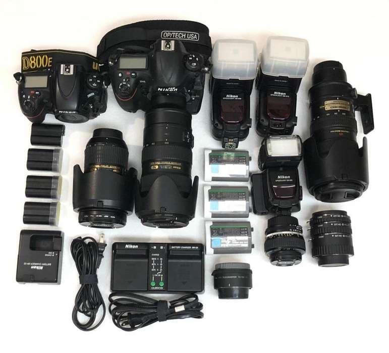 Kit De Camaras Reflex Nikon Completo