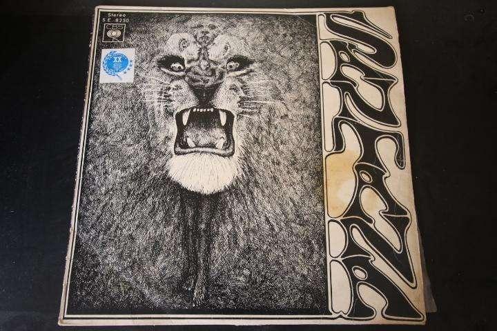 SANTANA 1ER ALBUM LP vinilo edición perú rock latin blues psicodelia hago envíos