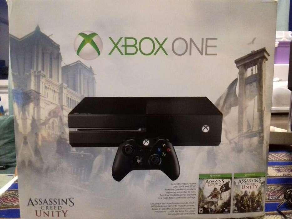 Vendo Xbox one 500 Gb con 2 juegos