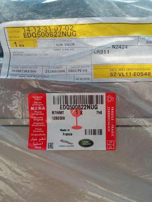 LAN ROVER 2008 <strong>accesorio</strong>S SUN VISOR