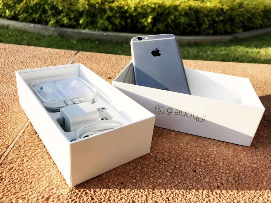 iPhone 6s 16gb excelente estado accesorios caja