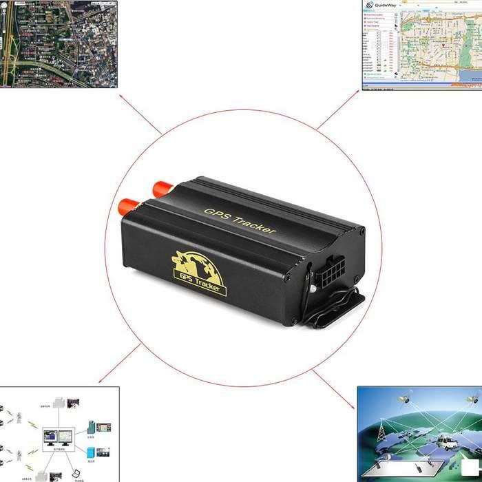 Rastreador GSM GPRS SMS en tiempo Real alarma de cerca G localizador de vehículos en tiempo Real