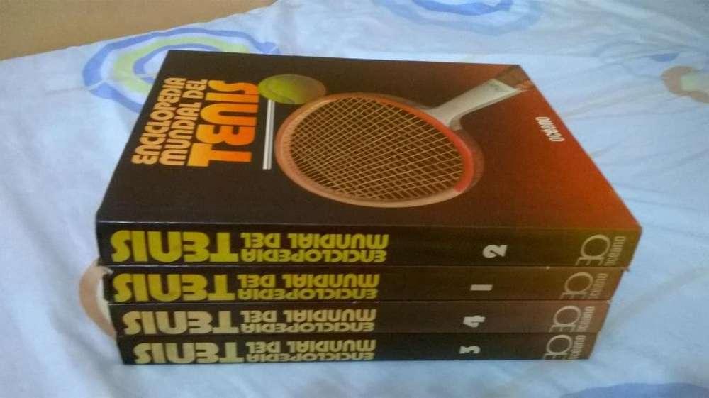 Enciclopedia Mundial del Tennis más libros